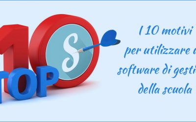 10 motivi per utilizzare un software di gestione della scuola…cloud!