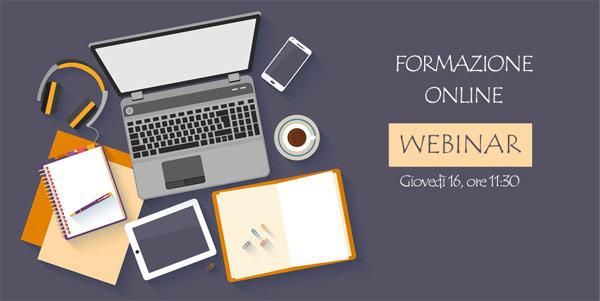 Nuovo Webinar: Formazione A Distanza – gestione, sicurezza e opzioni per istituti accreditati